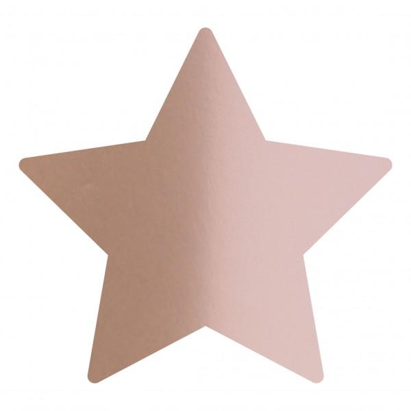 Goodtimes Folienkonfetti 1,7cm Stern 1kg Satin Rosegold