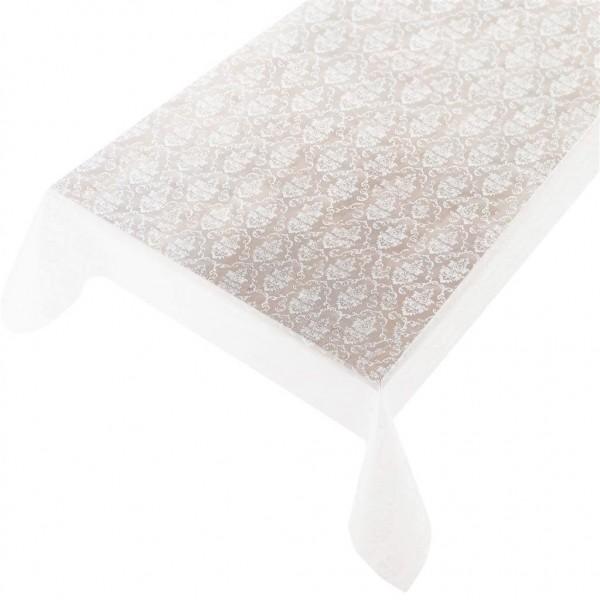 Lackfolie PVC Aida White transparent, Stärke 150my, Breite 135cm, Länge 20m