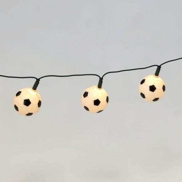 20er Fußball Mini Lichterkette