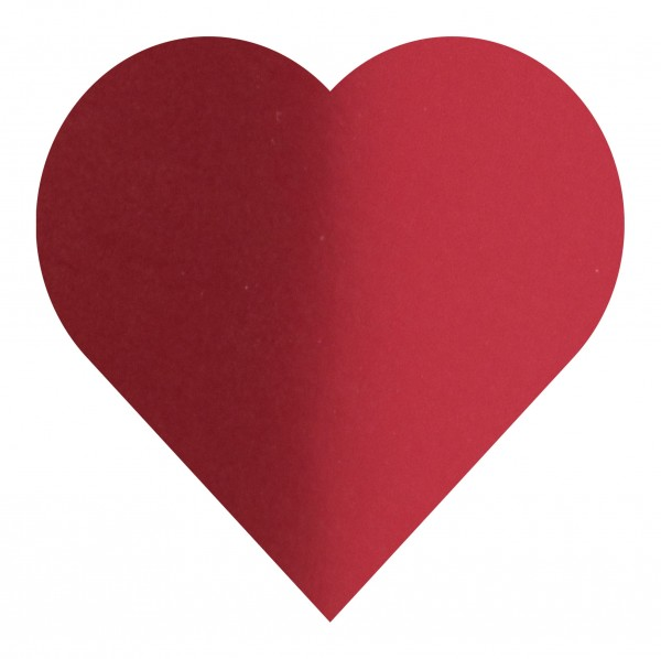 Goodtimes Folienkonfetti 3cm Herz 15g Satin Rot