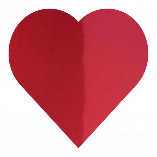 Goodtimes Folienkonfetti 3cm Herz 15g Rot
