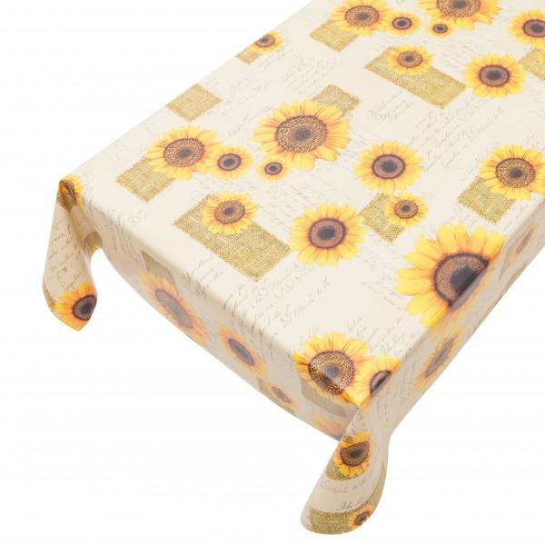 """Wachstischtuch Sunflower """"Sonnenblume"""""""
