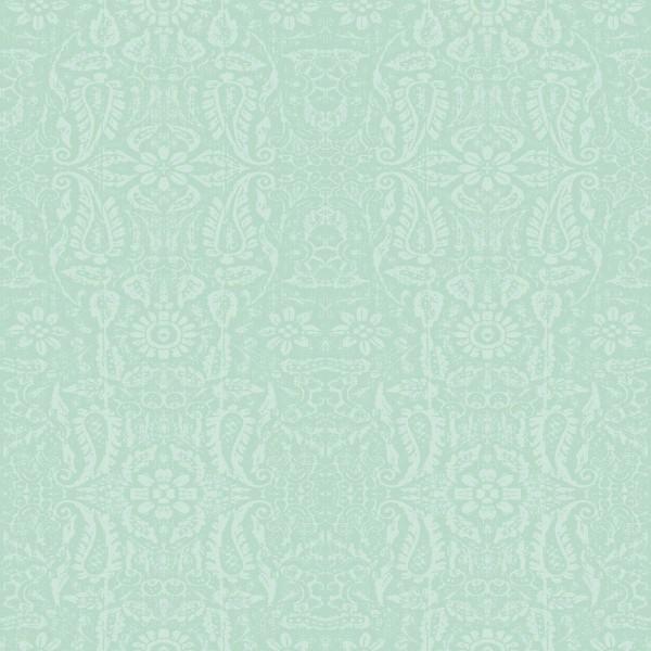 Lackfolie PVC Ornament Mint, Stärke 150my, Breite 140cm, Länge 20m
