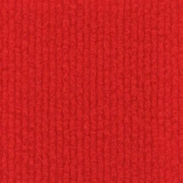 Event Rips Teppich rot (Red) 50m Länge 150cm Breite