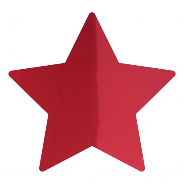 Goodtimes Folienkonfetti 1,7cm Stern 1kg Rot
