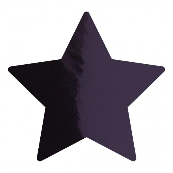 Goodtimes Folienkonfetti 1,7cm Stern 1kg Schwarz