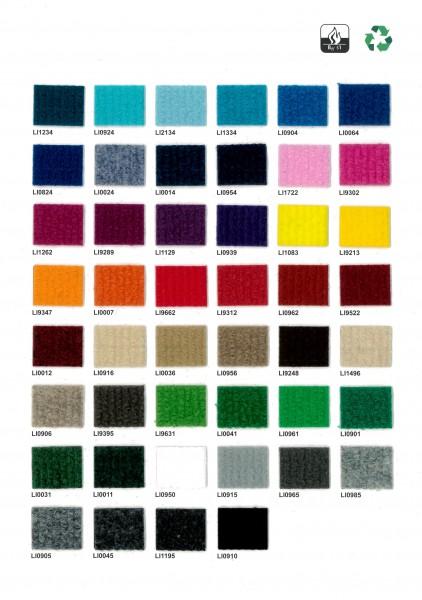 Musterkarte Rips Teppich (ExpoLine)