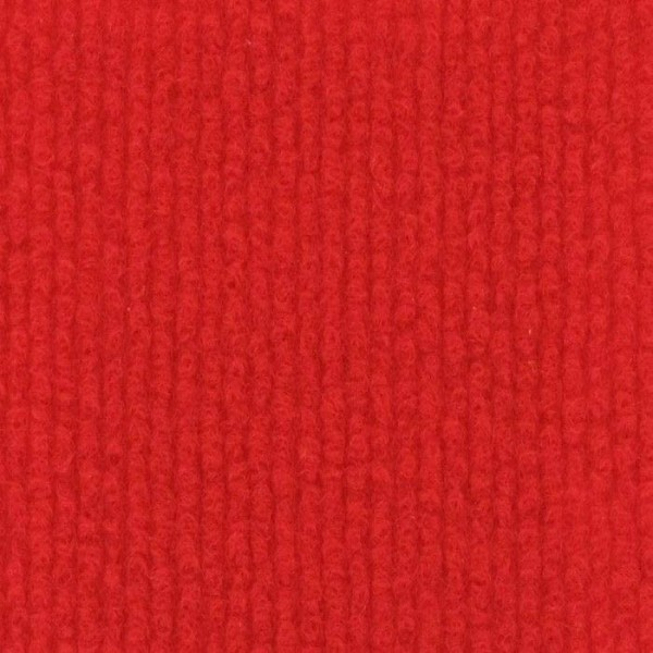 Event Rips Teppich rot (Red) 25m Länge 150cm Breite