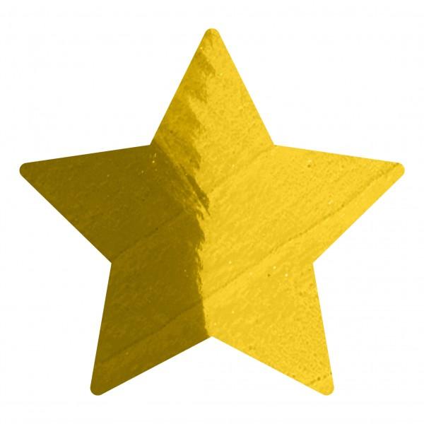Goodtimes Folienkonfetti 1,7cm Stern 1kg Gold