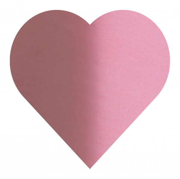 Goodtimes Folienkonfetti 3cm Herz 15g Satin Rosa