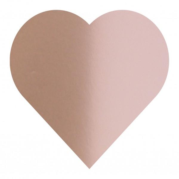 Goodtimes Folienkonfetti 3cm Herz 1kg Satin Rosé Gold