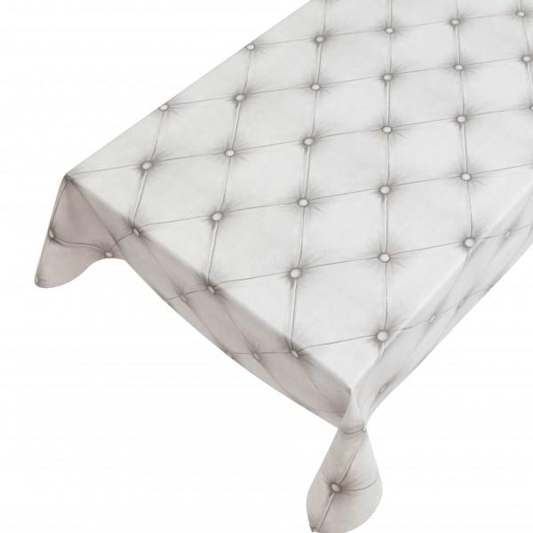 Lackfolie PVC Chesterfield White, Breite 140cm, Länge 20m