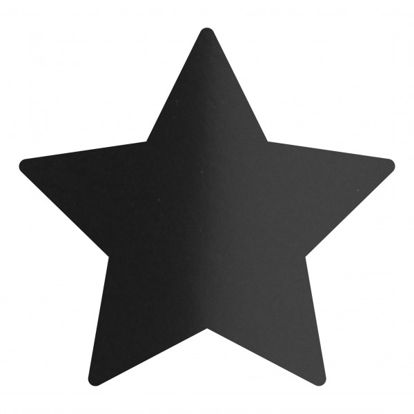Goodtimes Folienkonfetti 1,7cm Stern 15g Satin Schwarz