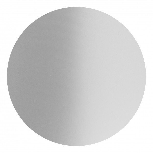 Goodtimes Folienkonfetti 2cm Rund 1kg Satin Silber