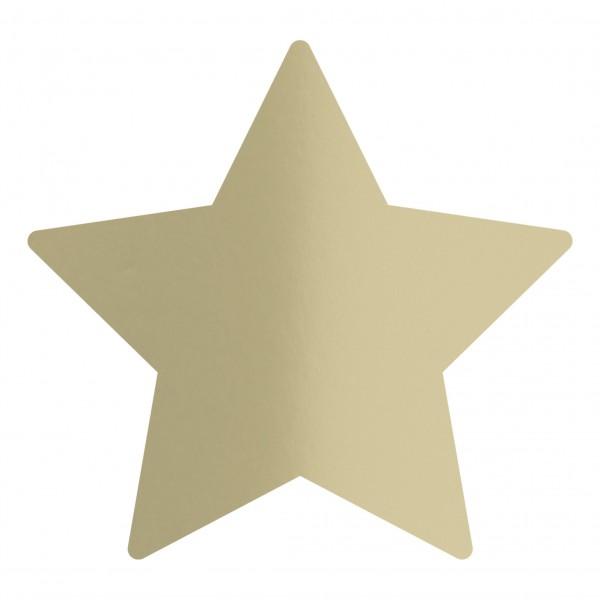 Goodtimes Folienkonfetti 1,7cm Stern 1kg Satin Gold