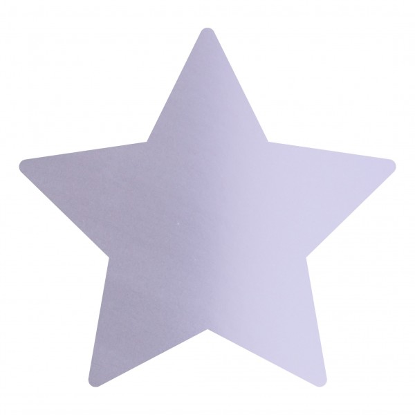 Goodtimes Folienkonfetti 1,7cm Stern 1kg Satin Hellblau