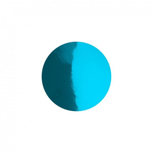 Goodtimes Folienkonfetti 1cm Rund 1kg Hellblau