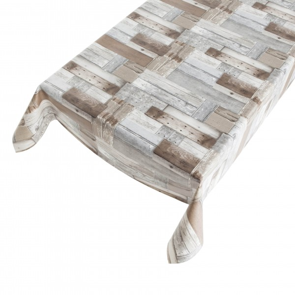 Lackfolie PVC Patchwood Grey/Brown