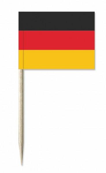 Minifahnen Deutschland 50 Stück