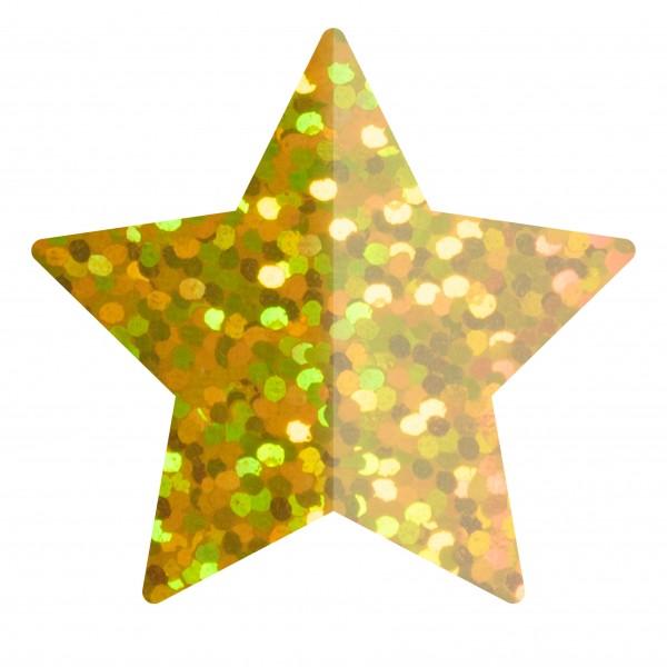 Goodtimes Folienkonfetti 1,7cm Stern 15g Holo Gold