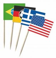 Minifahnen-Set 32 WM-Teilnehmer